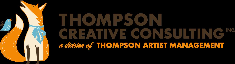 Thompson Creative Consulting header logo.